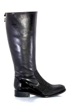 Scout Boot- Black by Bourgeois Boheme