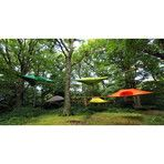 Tentsile // Stingray Tree Tent // Camouflage Flysheet (Fresh Green) - Unique Outdoor Gear - Touch of Modern