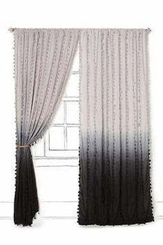 tye dye curtains!
