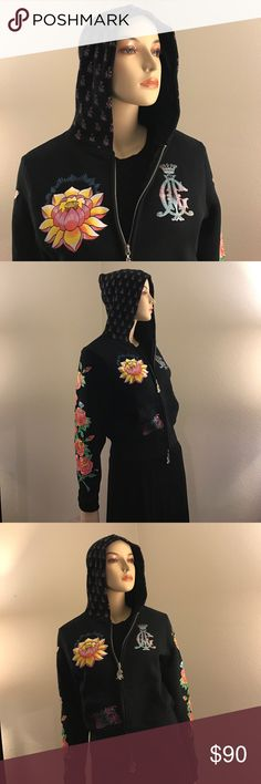 NWT Christian Audigier Hoodie This is in absolutely perfect condition. It's never been worn, the colors are bright and vibrant. It looks like it was purchased from a store yesterday. Christian Audigier Jackets & Coats