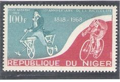 Timbre vélo République du Niger