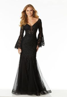 Shop for Mori Lee prom dresses at PromGirl. Short designer prom dresses, ballroom gowns, and long special occasion party dresses by Mori Lee. Mori Lee Prom Dresses, Gala Dresses, Dressy Dresses, Prom Dresses 2018, Form Fitting Prom Dresses, Lace Prom Gown, Dress Lace, Dress Prom, Mother Of Groom Dresses