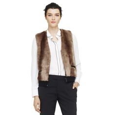 Natasha Faux Fur Vest - Club Monaco Jackets & Vests - Club Monaco