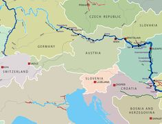 Odessa Ukraine And The World Then Til Now Part I For - Danube river on world map
