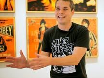 link to a Shepard Fairey video