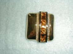 ivana trump topaz crystal pin by qualityvintagejewels on Etsy
