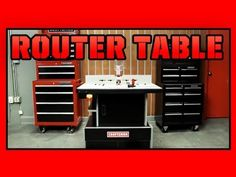 Craftsman Router Table - YouTube