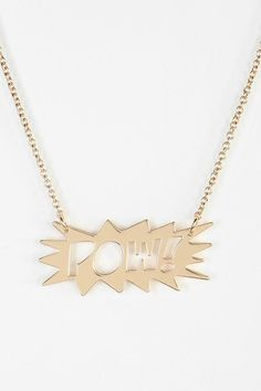 Boom Pow Necklace #urbanoutfitters