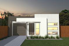 Costa Home Designs  Sunshine Coast Home Builders  BIANCO149 Signature Facade