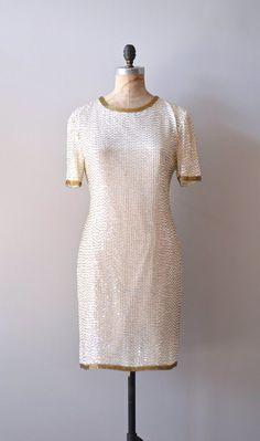 sequin dress White Light, White Heat cocktail dress