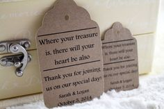 Heart Treasure Tags Where your treasure is by SillyLoveSongCustoms