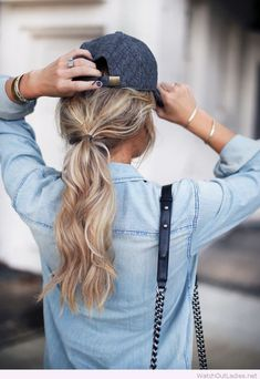 Cool fall blonde hair color More
