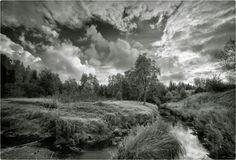 PhotoGraphist: Пейзаж с речкой Country Roads, Mountains, Nature, Travel, Naturaleza, Viajes, Destinations, Traveling, Trips
