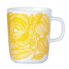 Kurjenpolvi mug 2,5 dl by Marimekko.