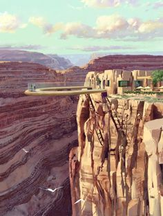 The Rim at the Grand Canyon.. would love to go here!