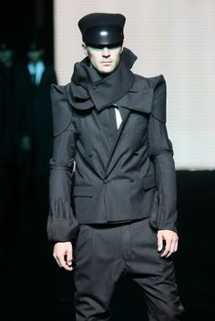 Aitor Throup - what seems like a generic garment (blazer) but has been made to look so much more riveting