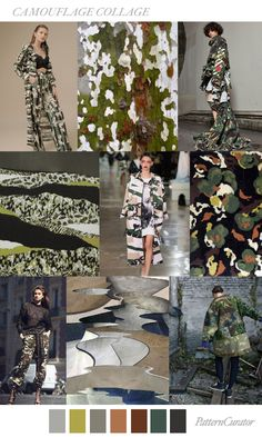 CAMOUFLAGE COLLAGE by PatternCurator