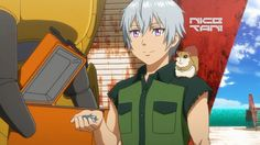 Ledo, just being adorable as hell -- Gargantia on the Verdurous Planet