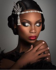 Wedding Makeup Tips, Bridal Makeup, Wedding Makeup Looks, Maquillage Black, Beauty Hacks For Teens, Makes You Beautiful, Beautiful Oops, Absolutely Stunning, Beautiful Pictures