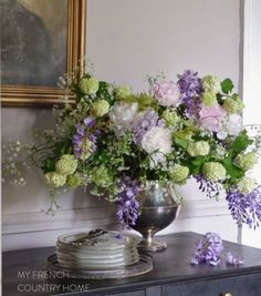the magic of spring flowers and my floral tour 2019 bouquet of peonies wisteria and snowball verbena The post the magic of spring flowers and my floral tour 2019 appeared first on Floral Decor. Simple Flowers, Fresh Flowers, Colorful Flowers, Spring Flowers, Beautiful Flowers, Floral Flowers, Spring Blooms, Cactus Flower, Exotic Flowers