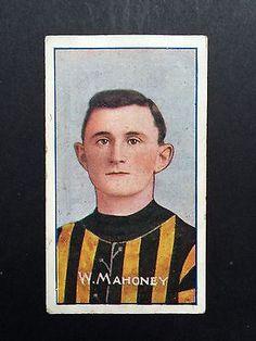 William Mahoney Richmond best and fairest 1911