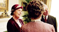 Isobel and Violet, Downton Abbey 5.01