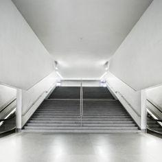 Metro São Bento, Porto.  Architect: Alvaro Siza