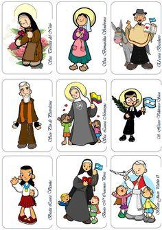 Catholic Religious Education, Catholic Kids, Catholic Prayers, Pictures Of Jesus Christ, Religion Catolica, All Saints Day, Sunday School Crafts, Lessons For Kids, Christianity