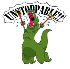 t-rex dinosaur comic metal arms unstoppable funny pics pictures pic picture image photo images photos lol T Rex Humor, Nerd Humor, Humor Grafico, Funny Pins, Funny Stuff, It's Funny, Awesome Stuff, Random Stuff, Dinosaurs