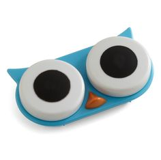 d42828182fa04a This adorable wide eyed owl contact lens case is guaranteed to keep an eye  on your eyes. For use with hard and soft contact lenses.