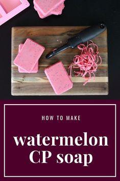 Watermelon Fruit, Fruit Fruit, Natural Beauty Recipes, Diy Scrub, Diy Beauty, Beauty Tips, Beauty Products, Homemade Soap Recipes, Handmade Soaps