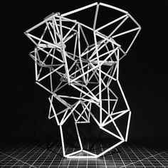 #tower #structure #silicate #form #sketch #balance #design #art #architecture #engineering #geometric #silicon #tetrahedron #tectosilicate #sculpture #abstract #maquette #physics #model by hyperqbert