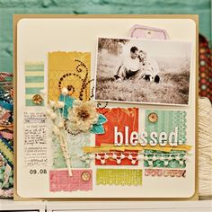 Blessed - Club CK - The Online Community and Scrapbook Club from Creating Keepsakes