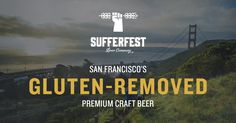 Athlete-founded, women-owned, gluten-removed premium craft beer based in San Francisco.