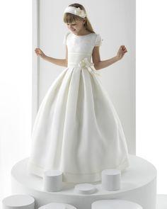 Silvia vestido de comunión Rosa Clara