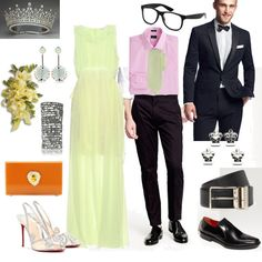 Refreshingly colorful outfit for the Prom King & Queen mission #fashion #contest #prom