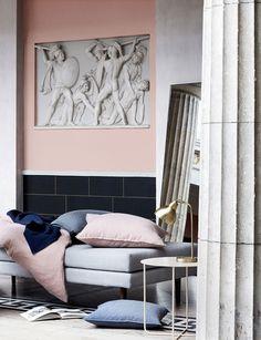 Stunning Spring Summer 2018 collection by Broste Copenhagen #interior #design #home #decor #idea #inspiration #cozy #style #room #pastel #pink #blue #catalog