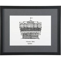 Cityscape Boston Print in All Sale | Crate and Barrel