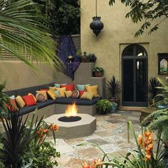 20+ Best Southwest Patio Ideas images | patio, mexican ... on Mexican Backyard Decor id=96906