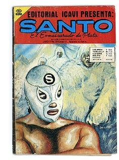 El Santo comic