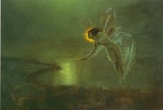 1879. Spirit of the Night by John Atkinson Grimshaw.