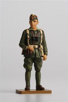 Lieutenant Spanish Foreign Legion, Spain