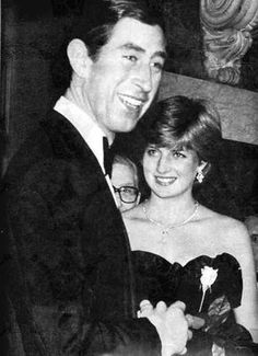 March 9, 1981: Prince Charles accompanying Lady Diana Spencer in making her…