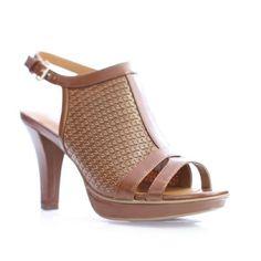 5cc8afdd609a Naturalizer DANIA E0581S1200 Tan Smooth (8.5). Cute HeelsNaturalizer ShoesWomen  SandalsSmoothMeshHeeled SandalsStuff To BuyFashionPeep Toe