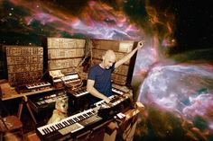 Cats On Synthesizers In Space Christopher Anderson has outdone himself yet again! one for Moby...