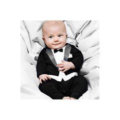 festliche kleidung baby junge stramplerhose smoking anzug look festive clothes baby boy romper pants tuxedo suit look Jumpsuit For Kids, Baby Jumpsuit, Baby Boy Romper, Baby Boy Newborn, Baby Rompers, Baby Baby, Baby Onesie, Baby Dungarees, Summer Jumpsuit