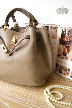 Leather Tote Bag  Shoulder Bag  Handbag