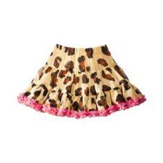 Harajuku Mini for Target® Toddler Girls' Leopard Print Skirt - Brown