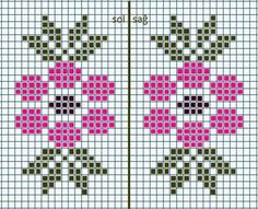 This Pin was discovered by Nil Cross Stitch Heart, Cross Stitch Borders, Modern Cross Stitch, Cross Stitch Flowers, Cross Stitch Designs, Cross Stitching, Cross Stitch Embroidery, Cross Stitch Patterns, Tapestry Crochet Patterns