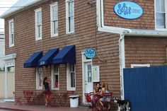 Sofi's Crepes in Downtown Annapolis is my absolute all time favorite breakfast shop! It has amazing crepes, a great atmosphere and a gorgeous view of the Naval Academy and Ego Alley!
